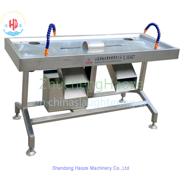 Double Room Chicken gizzard  Peeling Machine